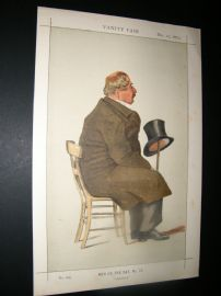 Vanity Fair Print 1873 Percy William Doyle